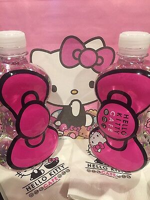 One Hello Kitty Cafe Bow Water Bottle New Sanrio Exclusive 2017