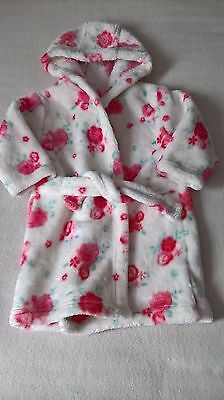 Cute Baby Girls Dressing Gown (6-9 Months)