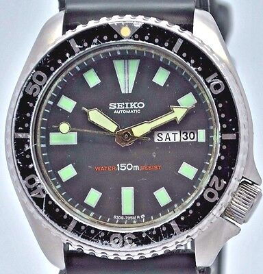 Seiko Divers automatic with day and date gents watch