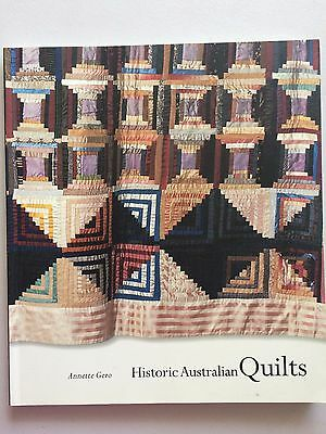 Historic Australian Quilts by Annette Gero    (Paperback)