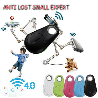 Mini Anti-Lost Theft Device Alarm Bluetooth Remote GPS Tracker Key Finder Phone
