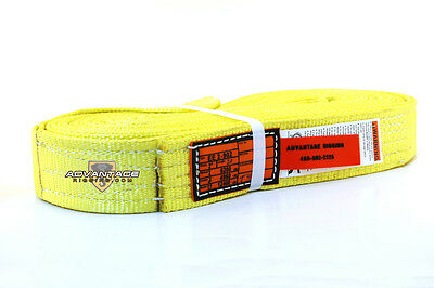 EE2-902 X20FT Nylon Lifting Sling Strap 2 Inch 2 Ply 20 Foot Feet USA MADE
