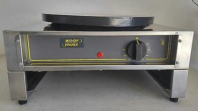 Sodir by Equipex 400E Professional/Commercial Crepe Maker/Machine/Stove - *NICE*