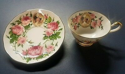 Mrs. Albee 1991 commemorative teacup and saucer  Avon Honor Society