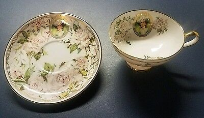 Mrs. Albee 1992 commemorative teacup and saucer  Avon Honor Society