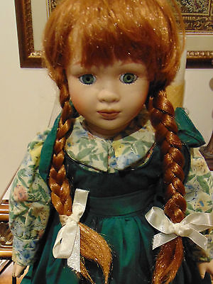 "17"" Anne of Green Gables On stand licensed by heirs of book"