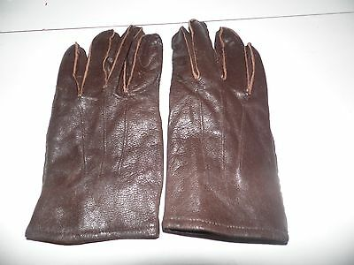 Men's Gates Devon Leather Lined Gloves Comfortable and Soft Size Medium