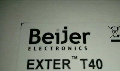 Beijer Exter T40,Touch screen HMI  new in box, opened for pictures.