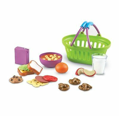 New Kids Pretend Play New Sprouts Lunch Basket Food Play Toy Set For 3 Years Up