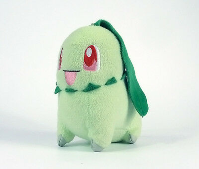 POKEMON - GERMIGNON Chikorita 16 cm Banpresto JAPON 2009 plush RARE