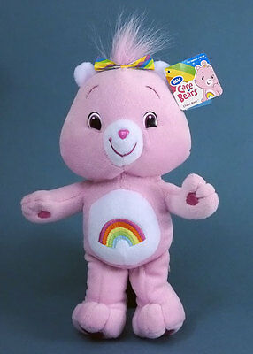 BISOUNOURS - Peluche Cheer Bear 25 cm Import JAPON Neuf New Care Bears 2007 Rare