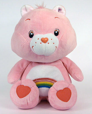 BISOUNOURS Grande Peluche CHEER BEAR 40 cm Import JAPON Care Bears Rare A