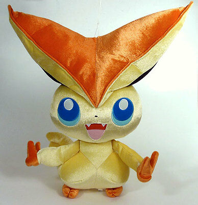 POKEMON - VICTINI Peluche shiny 43 cm Banpresto 2011 JAPON plush RARE