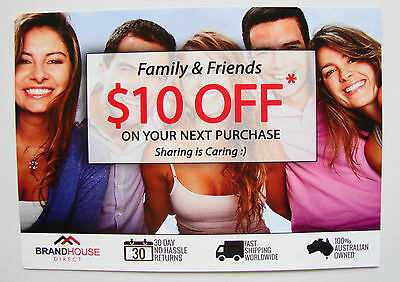 $10 Off at BRANDHOUSE DIRECT ~ Valid until 30/09/2017