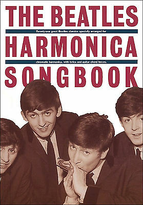 THE BEATLES FOR HARMONICA Sheet Music Book Pop Rock Chart Hits 1960s Mouth Organ