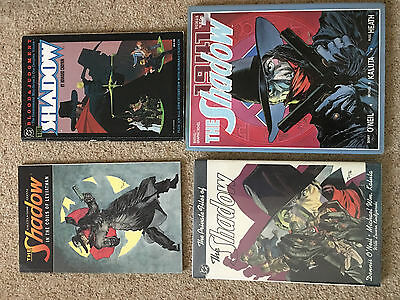 The Shadow comics TPB HC LOT - Chaykin Kaluta - Private Files hardcover Marvel