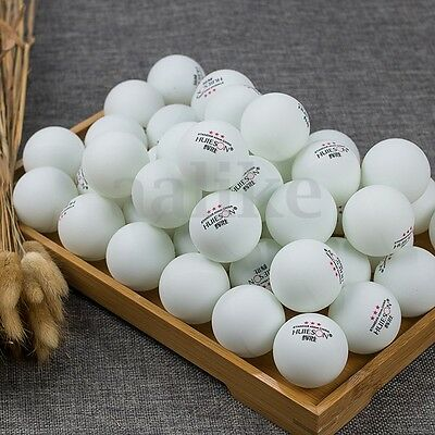 Orange/White 50/100Pcs 3-Stars 40mm Olympic Table Tennis Balls Ping pong Balls