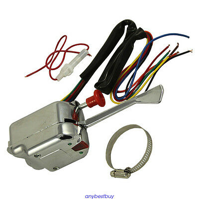 Car 12V Universal Street Hot Rod Turn Signal Switch Master For Ford Buick GM