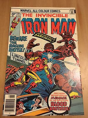 Marvel Comic The Invincible Ironman Vol 1 Issue 89