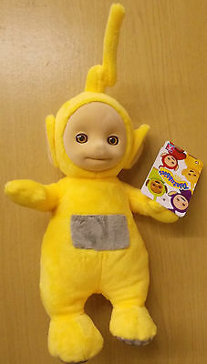 "Teletubbies ~ Talking Laa Laa ~ Supersoft Plush 10"" (27 cm) Soft Toy"