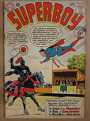 SUPERBOY #103 DC Silver Age