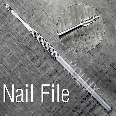 High Grade Stainless Steel Made Nail File For Finger Nails.For All Type.Unisex