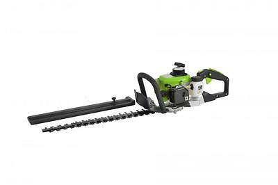 "26Cc Petrol Hedge Trimmer Garden Strimmer Cutter 24""/60Cm Blades 2 Stroke Engine"