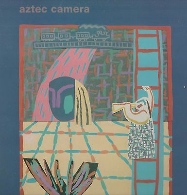 Aztec Camera - 'High Land, Hard Rain' 1983 UK Rough Trade LP w/inner. Ex!