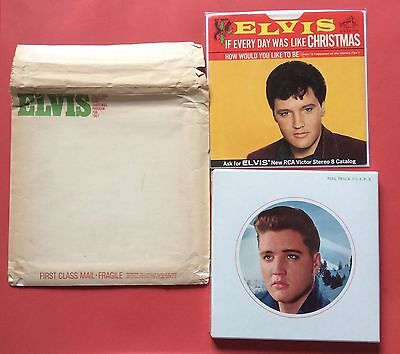 Elvis Presley- Very Very Hard To Find Xmas Programme 167-Still Sealed- In Mailer
