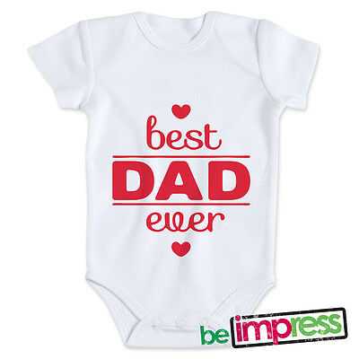 "BODINO - BODY BIMBO - FESTA DEL PAPà - ""BEST DAD EVER"" - BD0028"