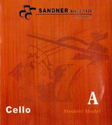 German Sandner Cello A String Steel Core For 3/4 and 4/4 Size