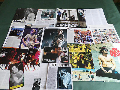Pearl Jam - Rock Band - Clippings /cutting Pack