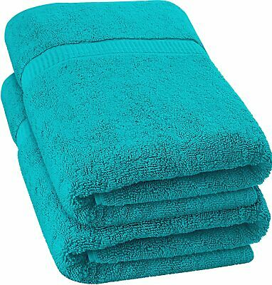 "Extra Large Bath Sheet Towel Soft Absorbent Cotton 35 x 70"" Lot Utopia Towels"
