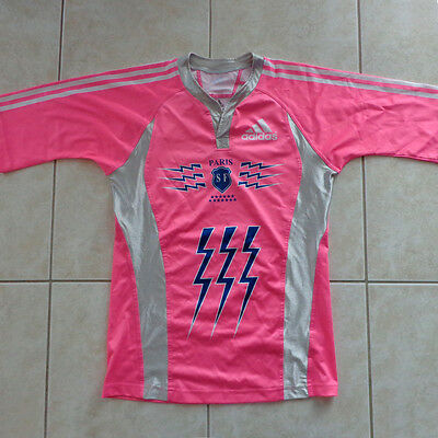 Stade Francais, maillot de rugby, rugby shirt, maglia - Saison 2007/08, taille M