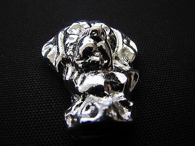 HACMint 2.9 oz 999+ Fine Silver RETRIEVER Hand Poured ART BAR