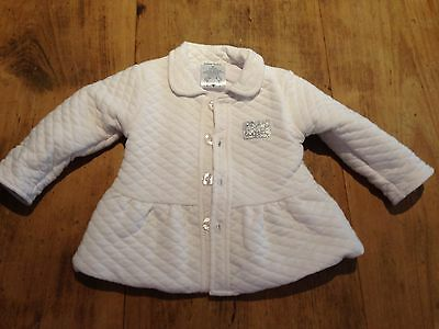 Baby Baby, Quilted Jacket, White, Sz 00 - 72H4