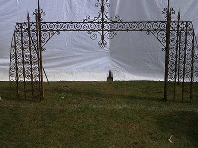 Antique Wrought Iron Archway