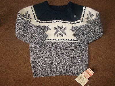 Baby boys Christmas jumper 12-18 months brand new with tags