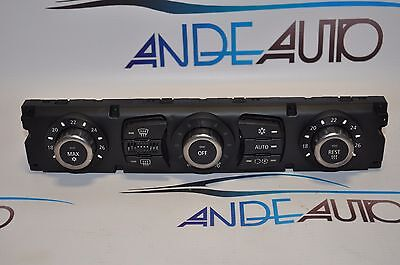 GENUINE BMW E63 6-series AC AIR CONDITIONING HEATER CLIMATE CONTROL UNIT 6956829