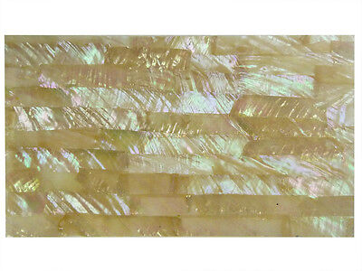 Incudo™ Australian White Abalone Laminate Shell Veneer Sheet, 240 x 140mm