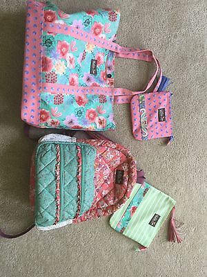 Matilda jane backpack and bag with accessories