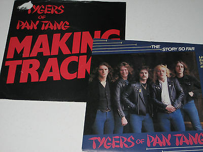 """Tygers Of Pan Tang - The Story So Far + Making Tracks (2x 7""""s Sold Together)"""