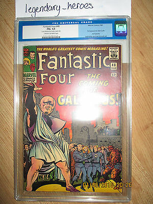 Fantastic Four # 48 1st Appearance of Galactus & Silver Surfer.  CGC 6.5