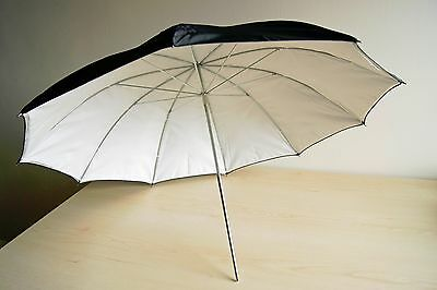 Bowens Silver / White Umbrella 90 cm Diameter (BW-4036)