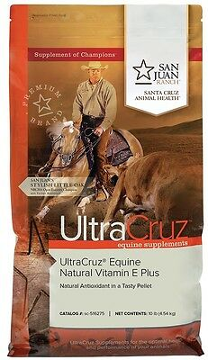 UltraCruz Natural Vitamin E Plus Supplement for horses, 10 lb (150 day supply)