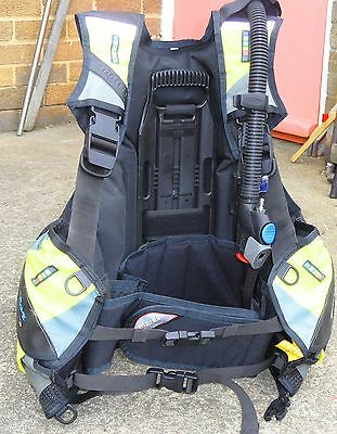 Mares  Vector Pro Scuba Diving Bcd -Medium Black And Yellow