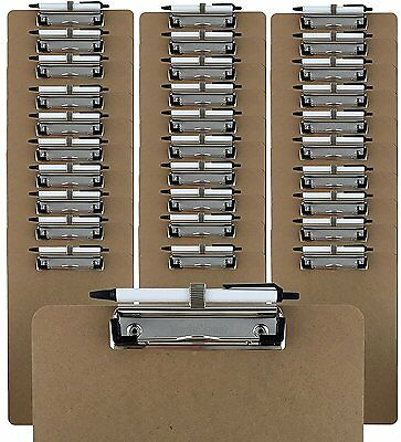 Trade Quest Pen Holder Clipboard Letter Size (Pack of 30)