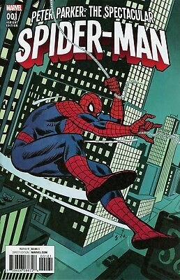 Peter Parker Spectacular Spiderman 1 Remastered 1:500 Variant Nm Amazing