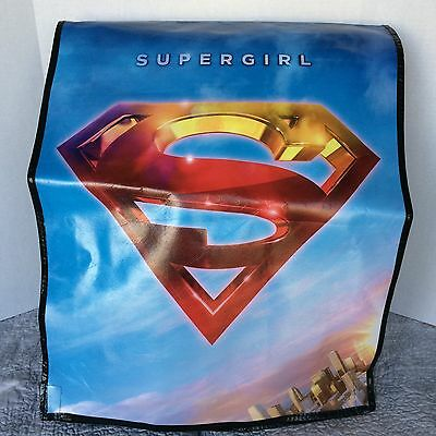 SDCC 2016   SUPERGIRL  Comic Con souvenir backpack bag with flap