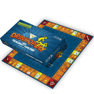 Drinkopoly - The World's Best Selling Drinking Game Fun Birthday Gift